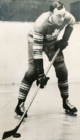 Irvine 'Ace' Bailey - Toronto Maple Leafs 1934
