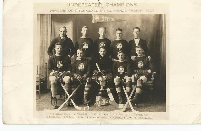 St. Francis Xavier Hockey Team - Cummings Trophy Champions 1924