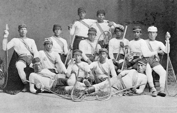 Mohawk Nation At Kahnawake Canadian Lacrosse Champions