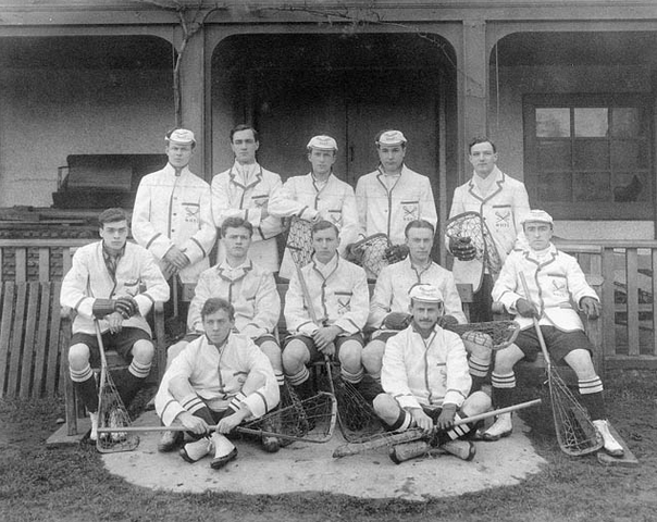 Oxford University Lacrosse Team 1910