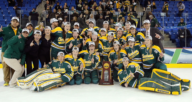 Clarkson Golden Knights - 2014 NCAA Women's Ice Hockey Champions