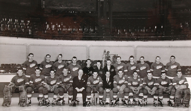 Detroit Red Wings - Stanley Cup Champions 1950