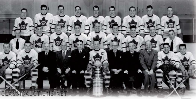 Toronto Maple Leafs - Stanley Cup Champions 1951