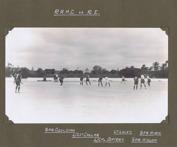 Antique Army Field Hockey - R.A.M.C. vs Royal Engineers 1920