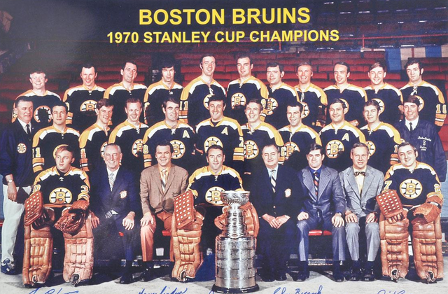 Boston Bruins - Stanley Cup Champions 1970