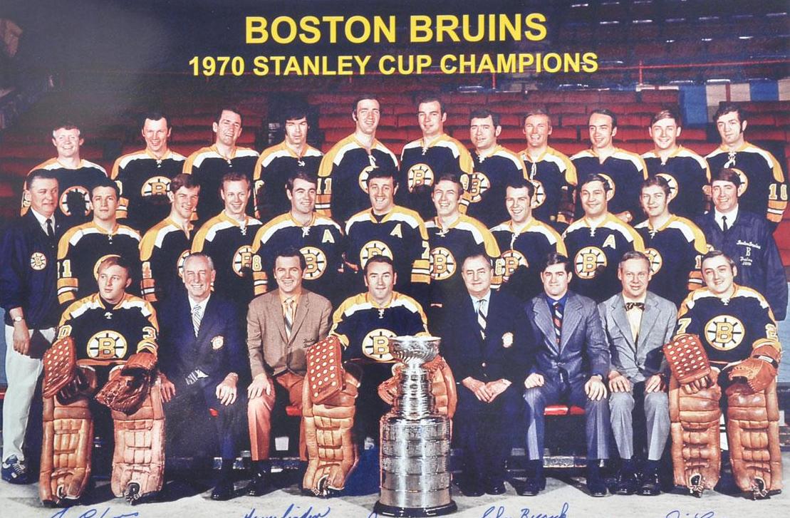 Boston Bruins Stanley Cup 1970 Boston Bruins - Stanle...