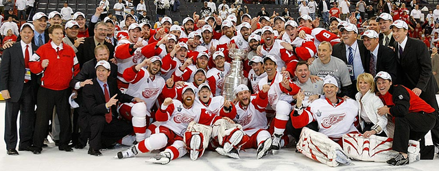 Detroit Red Wings - Stanley Cup Champions 2008