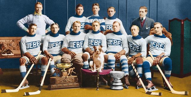 Quebec Bulldogs - Stanley Cup & O'Brien Trophy Champions 1913