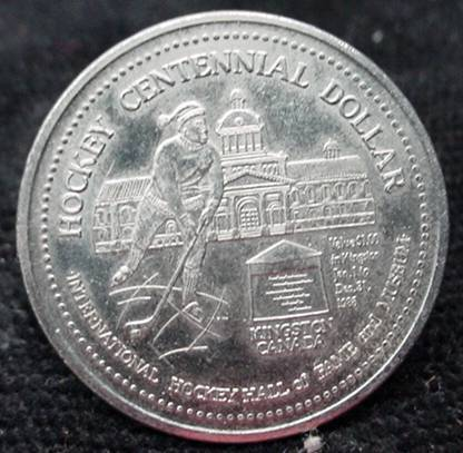 Hockey Coin 1986 2