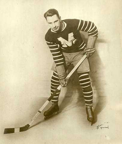 Joe Lamb - Montreal Maroons 1929 - 1st Player to Wear 99 Jersey