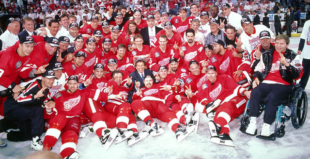 Detroit Red Wings - Stanley Cup Champions 1998