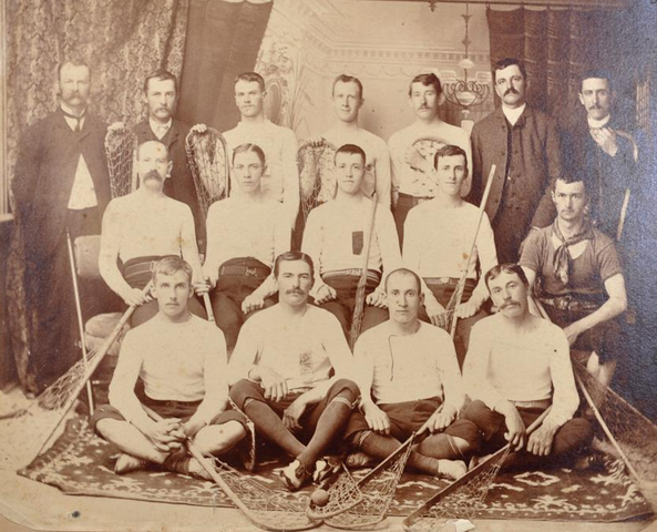 Young Canadians - Western District Lacrosse Champions 1885