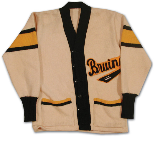 Boston Bruins Sweater worn by Milt Schmidt in the late 1940s