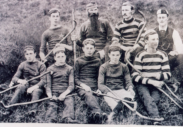 King's Hospital Hurley Team 1882
