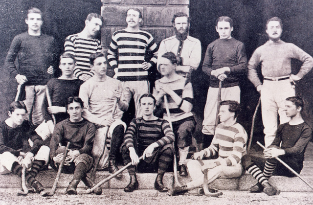 University of Dublin / Trinity College Hurley Team 1879