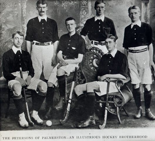 The Petersons of Palmerston - Irish Field Hockey History