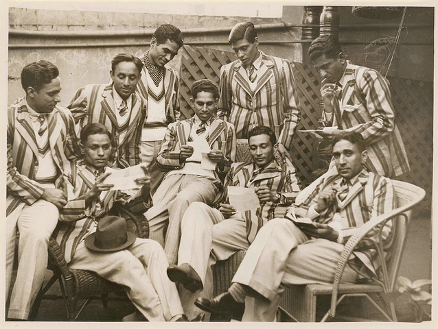 Manavadar Men's Hockey Team 1938 - India Field Hockey