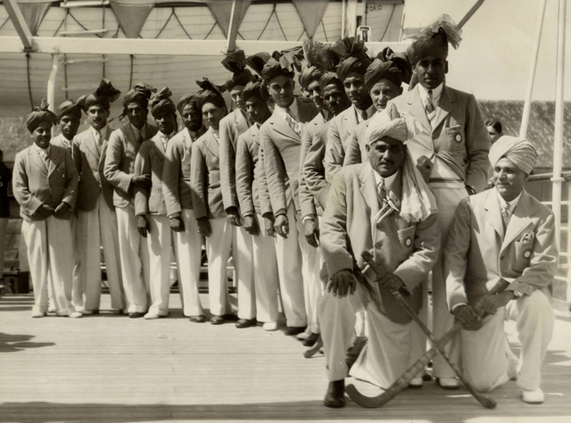India Field Hockey Team arriving in San Francisco 1932