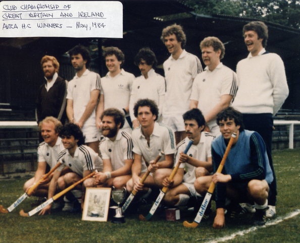 Avoca Hockey Club - British and Irish Club Champions 1984