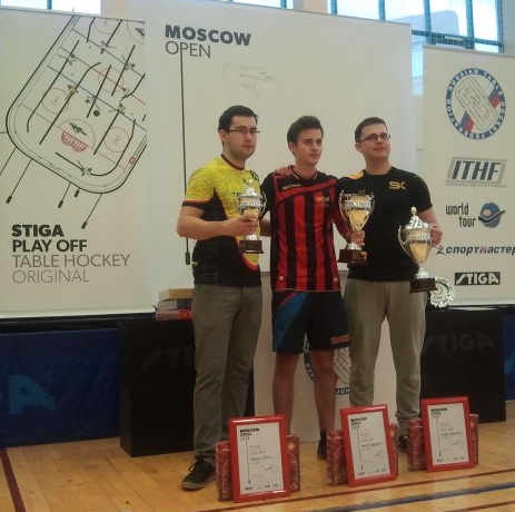 Moscow Open Table Hockey Champs 2014 Borisov, Zakharov & Tsaytss
