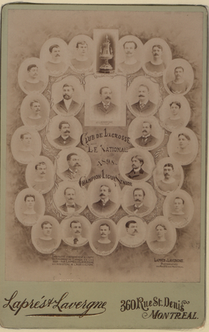 Club de Lacrosse - Le National Champion Ligue Senior 1898