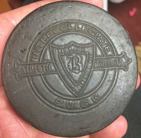 James W. Brine Company Intercollegiate Puck