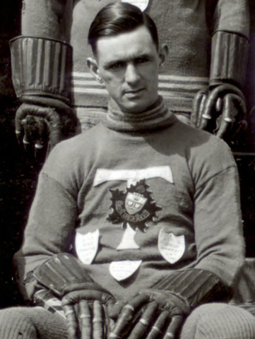 Stan Brown when he played for The University of Toronto 1921