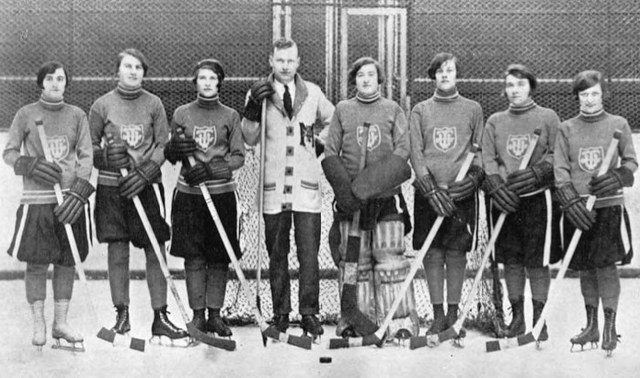 University of Toronto Women's Intercollegiate Hockey Team 1926
