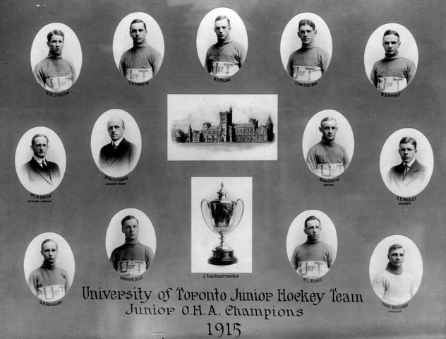 University of Toronto J. Ross Robertson Cup & OHA Champions 1915