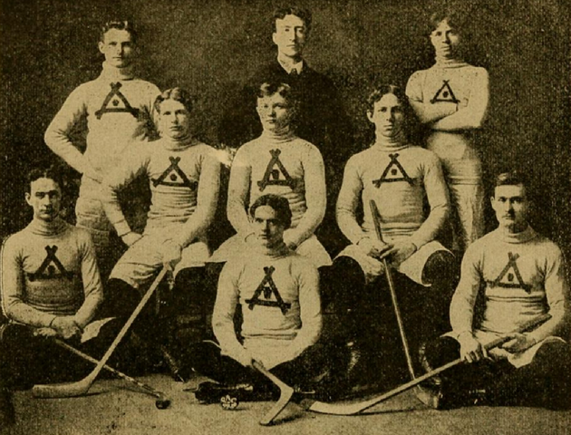 Pittsburgh Athletic Club Hockey Team - circa 1899 to 1900