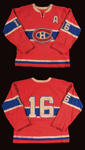 Henri Richard Montreal Canadiens Hockey Jersey 1960s