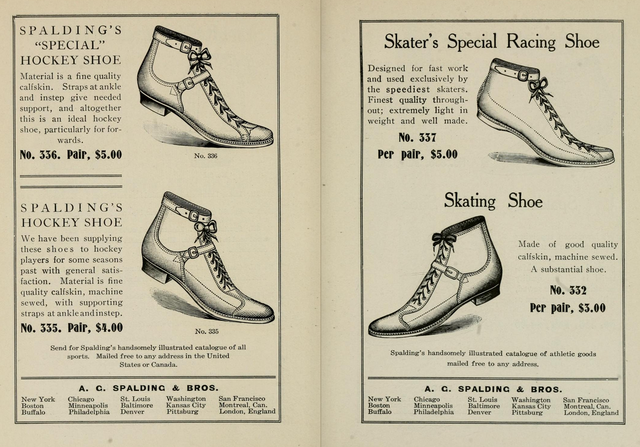 Spalding's Hockey Shoe 1904