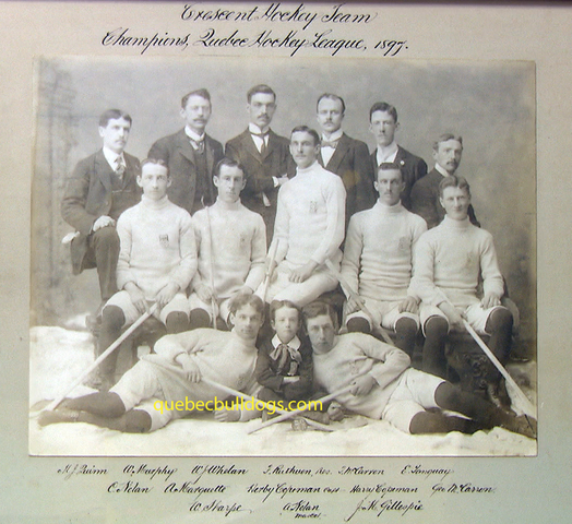 Crescent Hockey Team 1897
