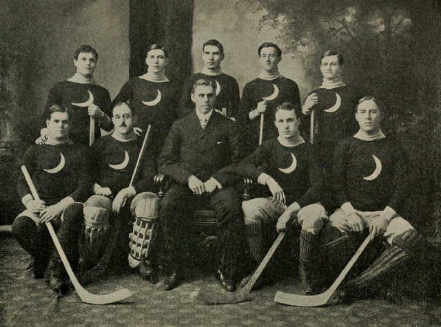 Brooklyn Crescents American Amateur Hockey League Champions 1906