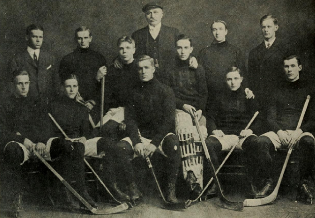 Harvard Varsity Hockey Team - Intercollegiate Champions 1906