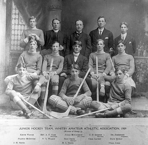 Whitby Amateur Athletic Association Junior Hockey Team 1909