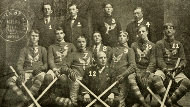Picton Hockey Team - Eastern O.H.A. Champions 1908
