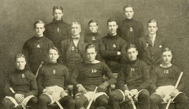 Harvard University Hockey Team 1908