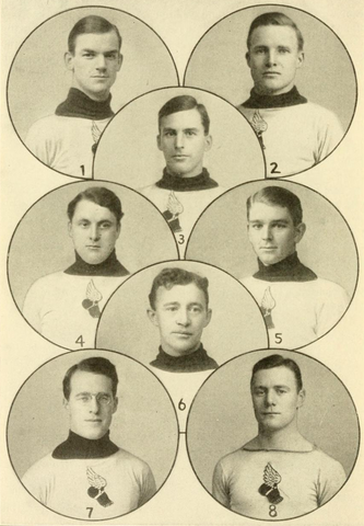 New York Athletic Club Hockey Team 1908