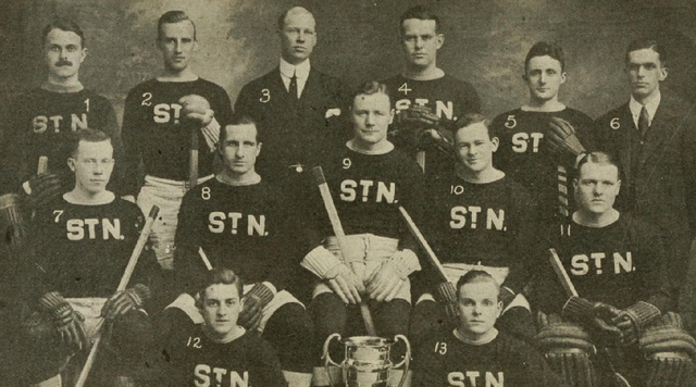 St. Nicholas HC - American Amateur Hockey League Champions 1914