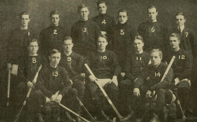 Harvard University Hockey Team 1910