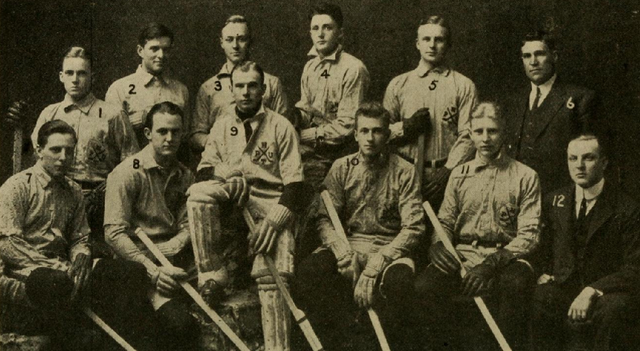 Princeton University Hockey Team  Intercollegiate Champions 1910