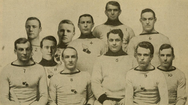 New York Athletic Club Hockey Team - AAHL Champions 1910