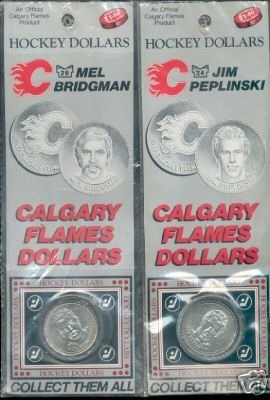Hockey Coins 1983