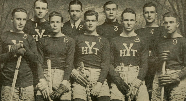 Yale University Hockey Team 1911