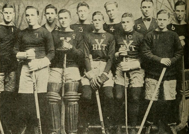 Yale University Hockey Team 1912