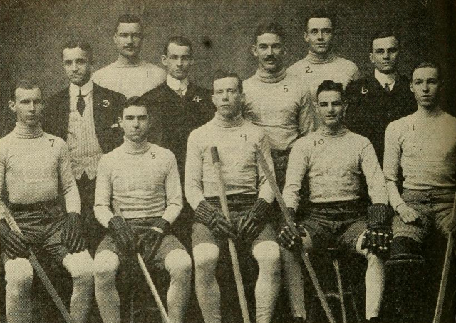 Columbia University Hockey Team 1912