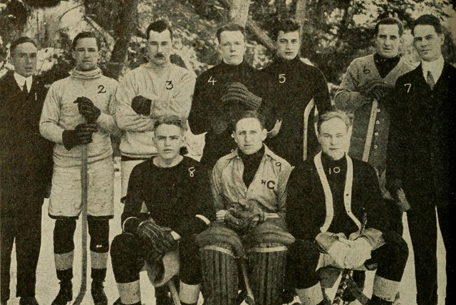 Cornell University Hockey Team 1912
