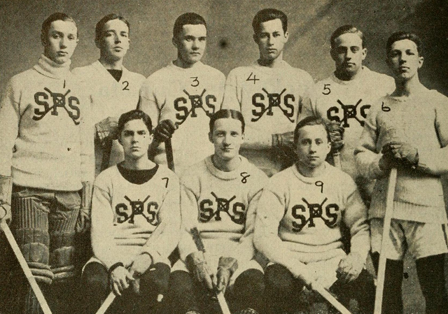 St. Pauls School Hockey Team 1912
