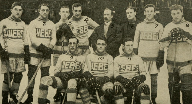 Quebec Bulldogs / Quebec Hockey Club Stanley Cup Champions 1913